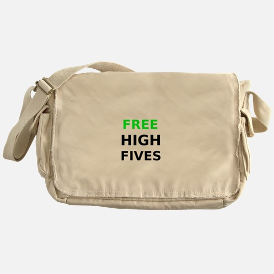 Free High Fives Messenger Bag