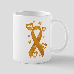 Orange Awareness Ribbon Mug
