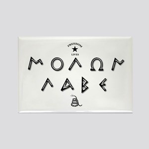Molon Labe - Script Rectangle Magnet