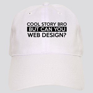 Web Design job gifts Cap