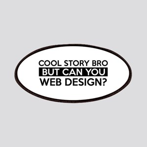 Web Design job gifts Patches