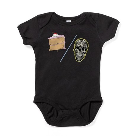 Cake or Death Baby Bodysuit