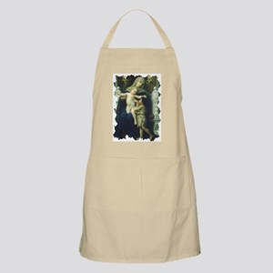 The Virgin, Baby Jesus and St BBQ Apron