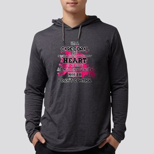 I'm a Cape Coral Girl Mens Hooded Shirt