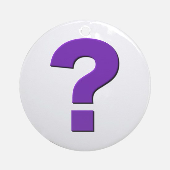Question mark, purple, t shirts, mugs,gifts Orname
