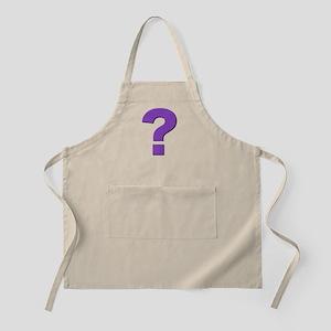 Question mark, purple, t shirts, mugs,gifts Apron