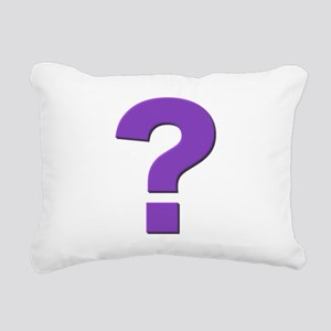 Question mark, purple, t shirts, mugs,gifts Rectan