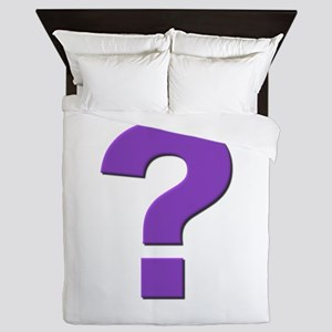 Question mark, purple, t shirts, mugs,gifts Queen