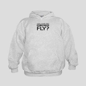 Fly job gifts Kids Hoodie