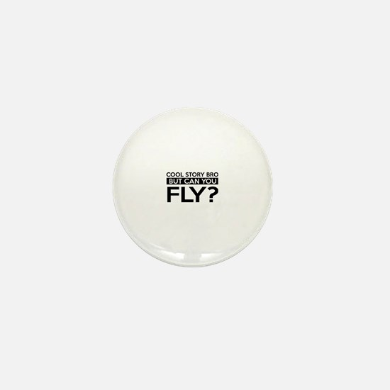 Fly job gifts Mini Button