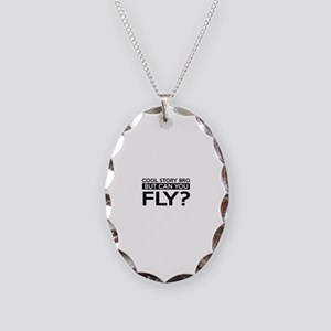 Fly job gifts Necklace Oval Charm
