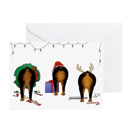 Rottweiler Christmas Greeting Cards (Pk of 10)