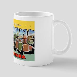 Evansville Indiana Greetings Mug