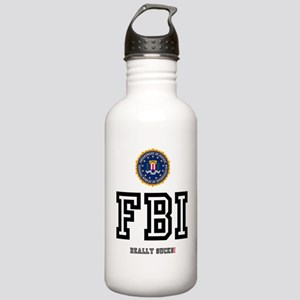 FBI - REALLY SUCKS! Z Sports Water Bottle