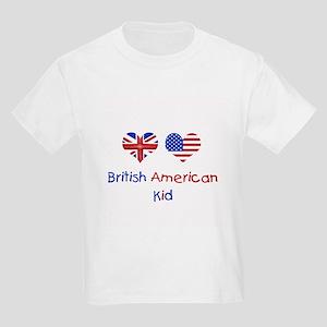 British American Kid Kids T-Shirt
