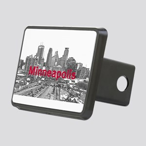 Minneapolis Rectangular Hitch Cover
