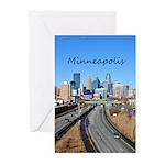 Minneapolis Greeting Cards (Pk of 10)