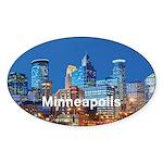 Minneapolis Sticker (Oval 50 pk)