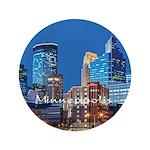 """Minneapolis 3.5"""" Button"""