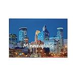 Minneapolis Rectangle Magnet