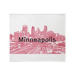 Minneapolis Throw Blanket