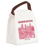 Minneapolis Canvas Lunch Bag