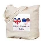 British American Baby Tote Bag