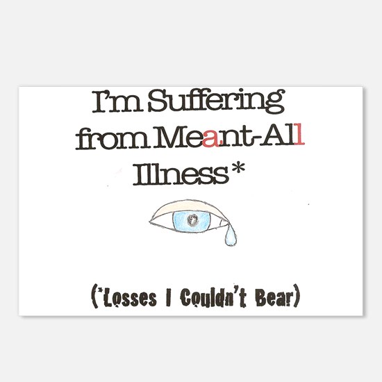 Meant all Postcards (Package of 8)