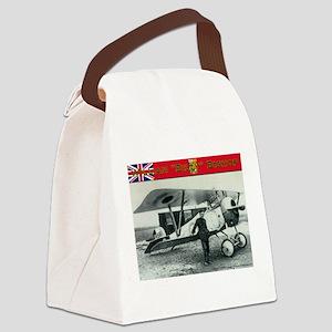 William A. Bishop Canvas Lunch Bag