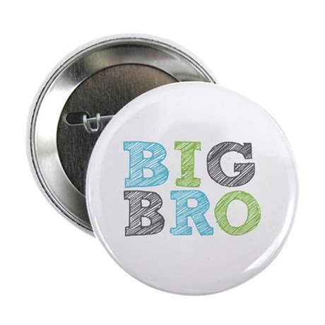"""Sketch Style Big Bro 2.25"""" Button (100 pack)"""