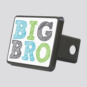 Sketch Style Big Bro Rectangular Hitch Cover