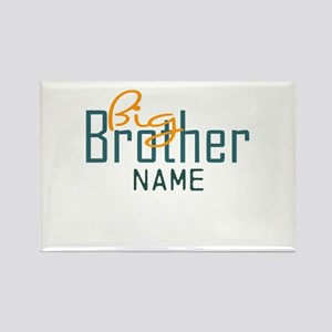 Personalized Add Name Big Brother Print Rectangle