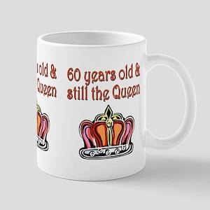 60 YR OLD QUEEN Mug