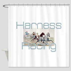 Harness Racing Shower Curtain