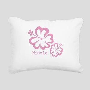 Customized (add your name) Hibiscus Print Rectangu