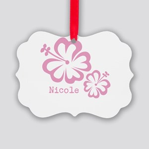 Customized (add your name) Hibiscus Print Picture