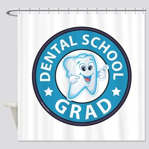 Dental School Graduation Shower Curtain