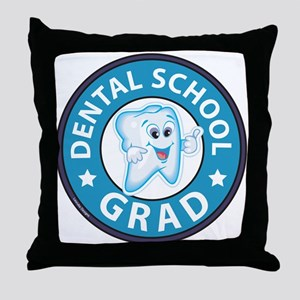 Dental School Graduation Throw Pillow