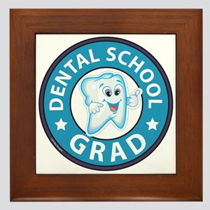 Dental School Graduation Framed Tile