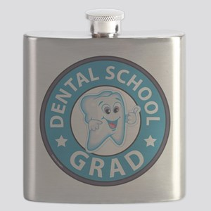 Dental School Graduation Flask