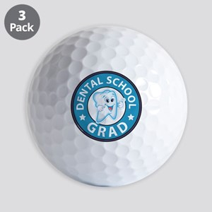 Dental School Graduation Golf Balls