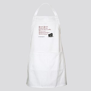 """""""Remember Remember"""" with Barrels BBQ Apron"""