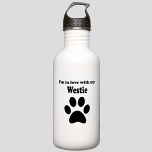 Im In Love With My Westie Water Bottle