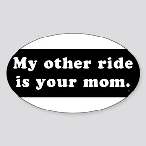 Other-ride-mom Sticker