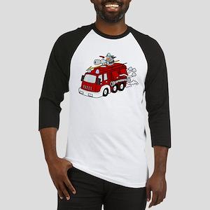 Fire Truck Baseball Jersey