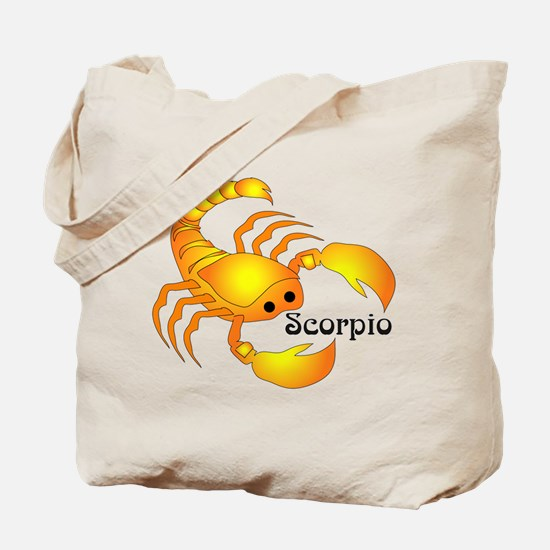 Whimsical Scorpio Tote Bag