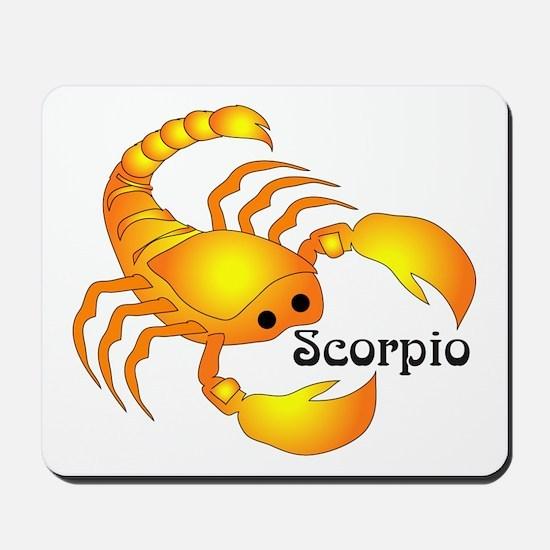 Whimsical Scorpio Mousepad