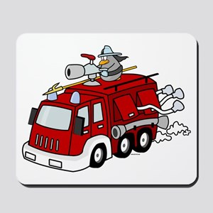 Fire Truck Mousepad