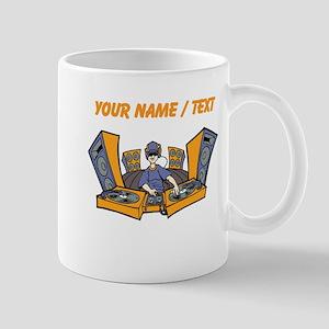 Custom Cartoon DJ Booth Mug