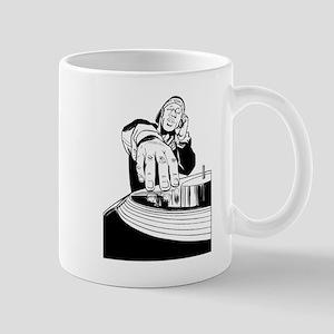 DJ Spinning Mug